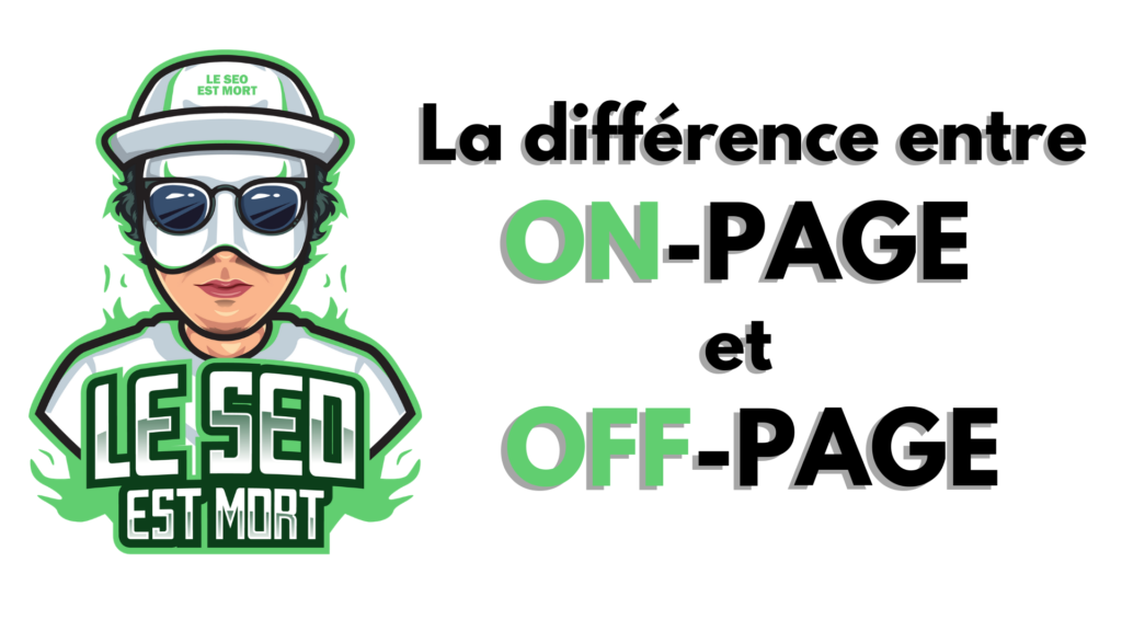 on page off page difference seo
