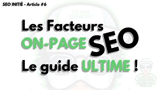 Guide On-page SEO